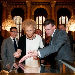 Diamond Jubilee Hallmark reception